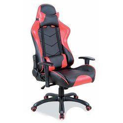 Fotel obrotowy q-109 czarny czerwony marki Signal meble
