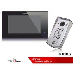 Zestaw wideodomofonu cyfrowego z szyfratorem duo s1311d_m1021b marki Vidos