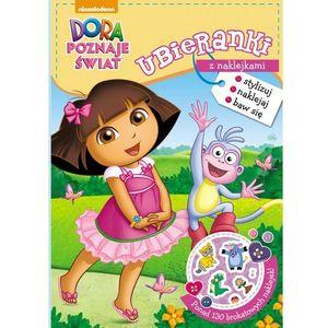 Dora poznaje świat Ubieranki z naklejkami - Jeśli zamówisz do 14:00, wyślemy tego samego dnia. Darmowa dostawa, już od 300 zł. (9788325322694)