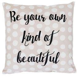 Poduszka, różowa, bawełna