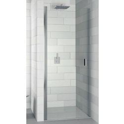 nautic n101 drzwi prysznicowe 100x200 lewe, szkło transparentne easyclean ggb0605801 od producenta Riho