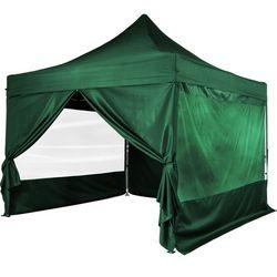 Zielony pawilon ekspresowy namiot 3x3m + 4 ścianki marki Instent ®