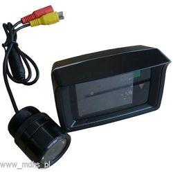 Zestaw samochodowy - kamera cofania + monitor LCD 2,5