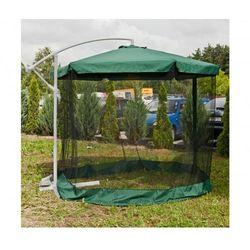 Duży parasol ogrodowy 3m z moskitierą wyprodukowany przez Dilmarket