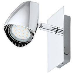 Kinkiet lampa sufitowa ścienna spot Eglo Corbera 1x3W GU10 LED chrom 93672, 93672