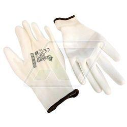 Rękawice robocze Geko białe 9 G73542