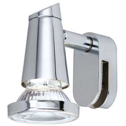 Eglo STICKER Lampa oświetlająca lustro LED Chrom, 1-punktowy - Nowoczesny - Obszar wewnętrzny - STICKER - Czas dostawy: od 8-12 dni roboczych (9002759958329)
