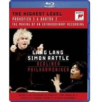 The Highest Level: Documentary on the Recording & Prokofiev: Piano Concerto No. 3 (Blu-ray) (CD) - Lang Lang