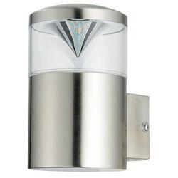 Kinkiet zewnętrzny ogrodowy lampa ścienna Rabalux Charlotte 1x9W GU10 LED IP44 inox 8559 (5998250385594)