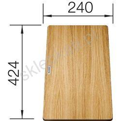 Blanco Drewniana deska do krojenia 424 x 240 mm - 230700 (4020684608862)