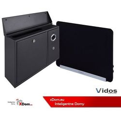 Zestaw s551-skn skrzynka na listy z wideodomofonem, monitor 7'' wideodomofonu m690bs2 marki Vidos