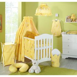 MAMO-TATO Lampa wisząca Hamaczki miodowo-żółte