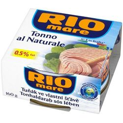 RIO MARE 160g Tuńczyk w sosie własnym w kawałkach, kup u jednego z partnerów