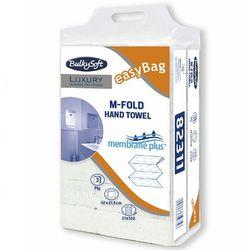 Ręcznik papierowy składany m luxury 3 warstwy 2520 szt. biały celuloza marki Bulkysoft