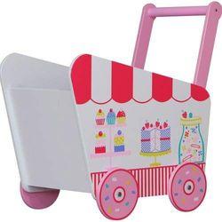Kidsaw  skrzynia na zabawki/chodzik - patisserie