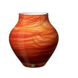 - oronda wazon pomarańczowy wysokość: 17 cm marki Villeroy & boch
