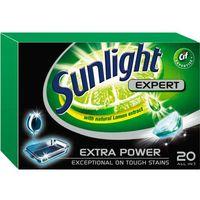 Unilever SUNLIGHT Tabletki do zmywarki (668302) Darmowy odbiór w 20 miastach! - sprawdź w wybranym sklepie