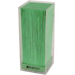 Ambition Blok kwadratowy transparentny z zieloną trawą vert (5904134205971)