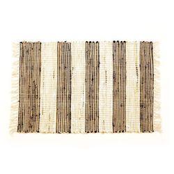 Vog ręcznie tkany dywan juta ciemny, 60 x 90 cm marki 4home