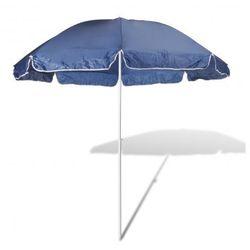 Parasol plażowy, niebieski (240cm)., vidaXL z VidaXL