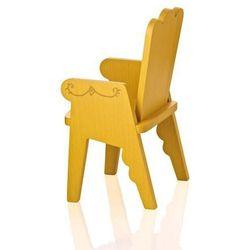 Krzesło dziecięce Reiet żółte