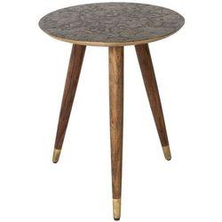 stolik bast mosiężny 2300055 marki Dutchbone
