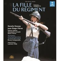 Donizetti: La fille du regiment (Blu-ray) - Natalie Dessay, Juan Diego Florez