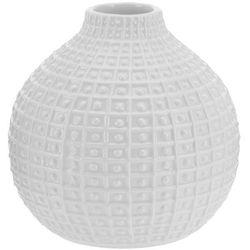 Ceramiczny wazon na kwiaty, dekoracje - okrągły, Ø 18 cm, B01N7IZ11G