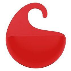 Organizer łazienkowy SURF XS - kolor czerwony, KOZIOL (4002942255490)