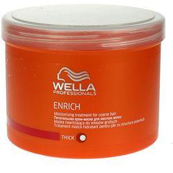 Wella  enrich moisturising - maska nawilżająca do włosów grubych 500ml