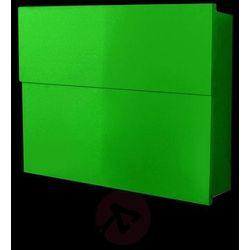 Prosta skrzynka na listy LETTERMAN XXL II, zielona