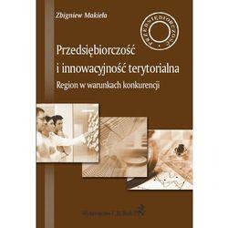 Przedsiębiorczość i innowacyjność terytorialna, książka w oprawie miękkej