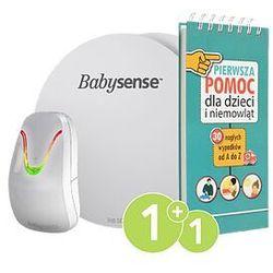"""Monitor oddechu dla niemowląt BABYSENSE 7 + poradnik """"pierwsza pomoc dla dzieci i młodzieży"""""""