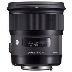 Obiektyw SIGMA A 24/1.4 DG HSM Nikon + DARMOWY TRANSPORT! z kategorii obiektywy fotograficzne