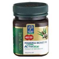 Miód manuka mgo 250+ z żelem activaloe 250 g marki Manuka health new zealand