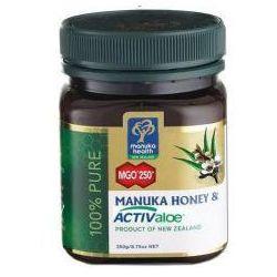Miód manuka mgo 250+ z żelem activaloe 250 g, marki Manuka health new zealand
