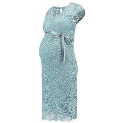 MAMALICIOUS MLNEWMIVANA Sukienka etui mineral blue z kategorii Sukienki ciążowe