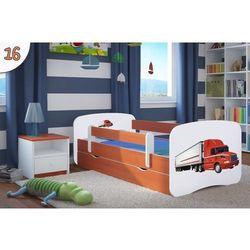 Łóżko dziecięce Kocot-Meble BABYDREAMS Czerwony TIR,Kolory Negocjuj cenę., Kocot-Meble