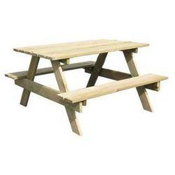 Stolik dla dzieci piknik drewniany marki Trigano