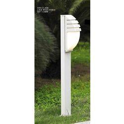 Lampa stojąca Italux Decora 5161-1/100 zewnętrzna 1X60W E27 biała