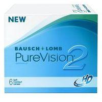 Pure vision 2hd 6 szt. wyprzedaż! marki Bausch & lomb