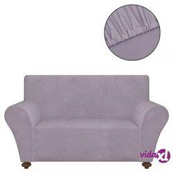 elastyczny pokrowiec na fotel, z dżerseju, szary marki Vidaxl