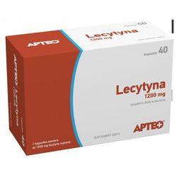 Lecytyna 1200 mg APTEO 40 kaps (kapsułki)