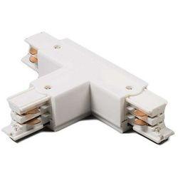 Łącznik typu T lewy dla szyny 3-fazowej biały z kategorii oświetlenie