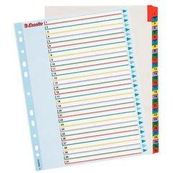 Przekładki numeryczne Esselte Mylar Maxi A4+/1-31, 100210