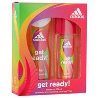 Adidas  get ready! zestaw dla kobiet (dns + żel)