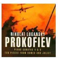 Warner music Prokofieff: piano sonatas 4 & 6 / romeo & juliet 10 pc (0825646125524)