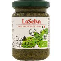 Laselva Bazylia w oliwie z oliwek bio 130 g -