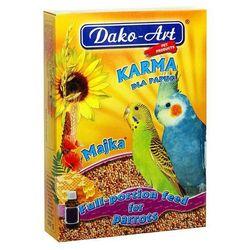 Dako-art  majka - pełnowartościowy pokarm z tranem dla małych papug 500g