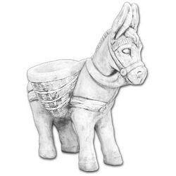 Donica - Wazon z kamienia - w kształcie osiołka